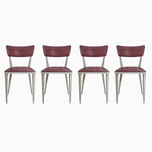 Model BA23 Dining Chairs by Ernest Race, 1940s, Set of 4