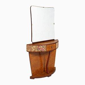 Toeletta Art Deco in legno, Italia