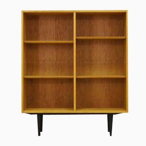 Vintage Eschenholz Bücherregal von Poul Hundevad für Hundevad & Co