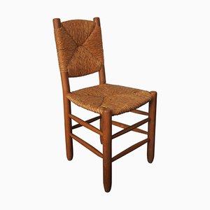 Französischer Mid-Century Nr. 19 Chair von Charlotte Perriand für Steph Simon, 1950er