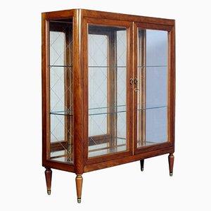 Mid-Century Modern Cherrywood Display Cabinet, 1950s
