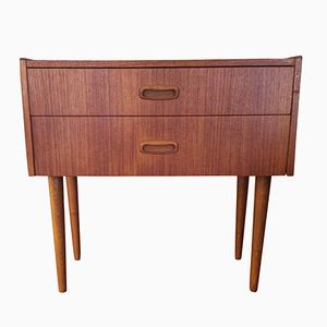 Swedish Side Table in Teak, 1960s