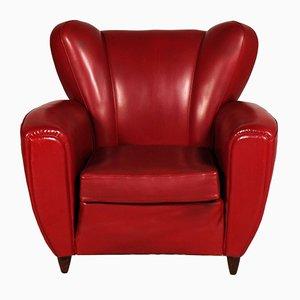 Charmant Italian Art Deco Club Chair By Guglielmo Ulrich