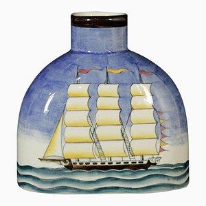 Bottiglia vintage in ceramica di Gio Ponti per Richard Ginori