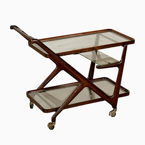 Mid-Century Bar Trolley by Cesare Lacca