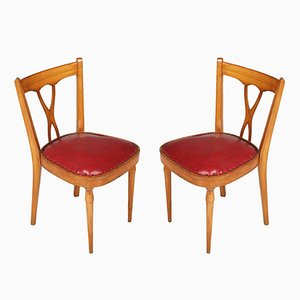 Mid-Century Side Chairs, Set of 2