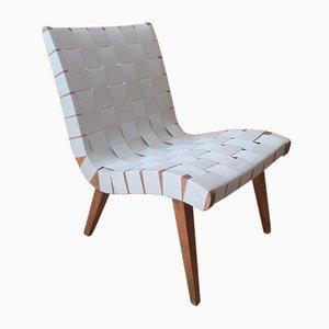 Chaise d'Appoint Modèle 654W par Jens Risom pour Walter Knoll, 1950s