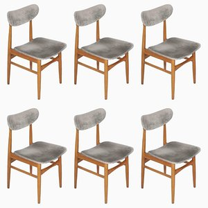 Danish Chairs, 1950s, Set of 6