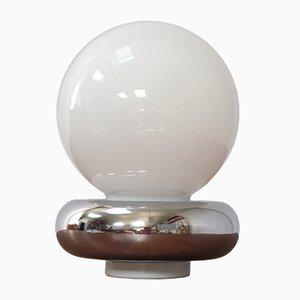 Lampada da tavolo Mid-Century in vetro