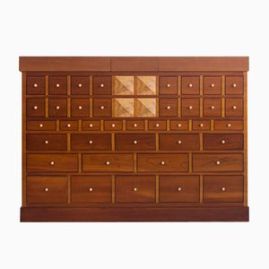 Mueble bar de madera de cerezo de Sellaro Arredamenti S.R.L, años 80
