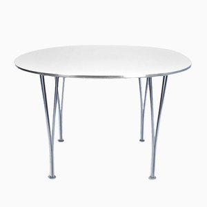 Super-Circular Table by Piet Hein, Arne Mathsson & Bruno Jacobsen for Fritz Hansen