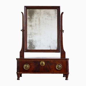 Französischer Louis XVI Mahagoni Tischspiegel, 1790er