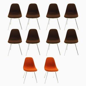 Vintage DSX Chairs von Charles & Ray Eames für Herman Miller, 10er Set