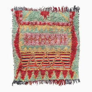Moroccan Boucherouite Berber Carpet,1980s