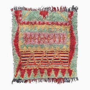 Moroccan Boucherouite Berber Carpet,1990s
