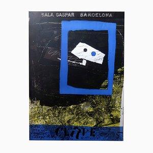 Plakat von Antoni Clavé für Gaspar, 1975