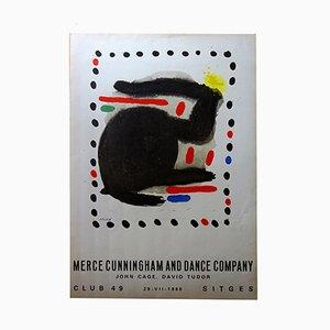 Affiche par Joan Miró pour Merce Cunningham, 1966