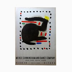 Póster de Joan Miró para Merce Cunningham, 1966