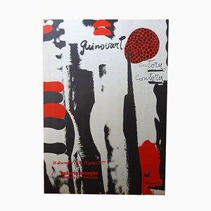 Plakat von Josep Guinovart für Maeght, 1976