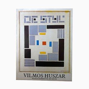 De Stijl Plakat von Vilmos Huszar, 1985