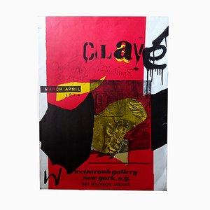 Plakat von Antoni Clavé für Weintraub, 1974