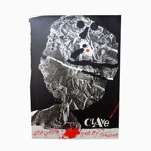 Affiche par Antoni Clavé pour Sala Gaspar, 1977