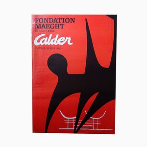 Poster by Calder for Maeght, 1969