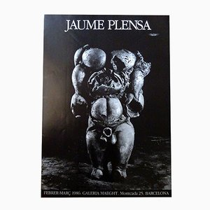 Plakat von Jaume Plensa für Maeght, 1986