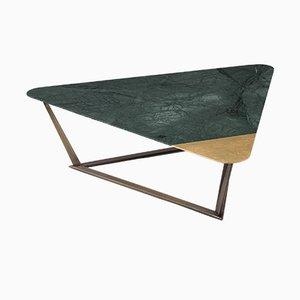 Tavolino da caffè Archer dorato di Alex Mint