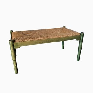 Vintage Carimate Bench by Vico Magistretti for Cassina