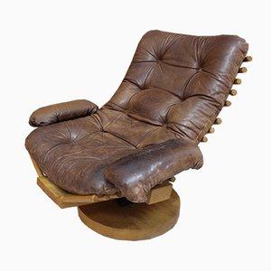 Model Fishbone Swivel Chair by Gerard van den Berg, 1960s
