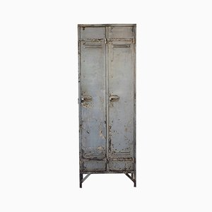 Armadietto vintage industriale di Strafor