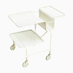 French Serving Trolley by Mathieu Matégot, 1950s