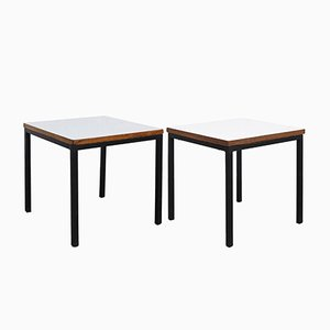 T-Angle Side Tables by Florence Knoll Bassett for Knoll Inc., 1950s, Set of 2