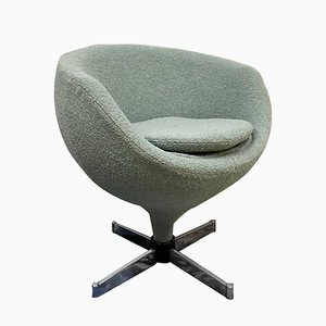 Vintage Luna Swivel Lounge Chair by Pierre Guariche for Meurop