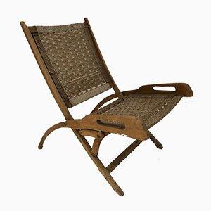 Chaise de Bureau Ninfea par Gio Ponti pour Reguitti, 1950s
