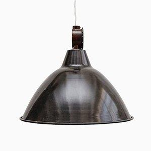 Französische industrielle Lampe, 1950er