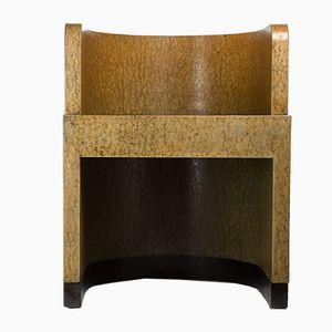 Boxwood Chair mit geschwungener Rückenlehne von Gino Levi Montalcini & Giuseppe Pagano für F.I.P., 1929