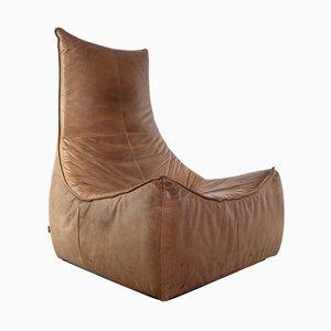 Rock Sessel aus Leder von Gerard van den Berg für Montis, 1970er