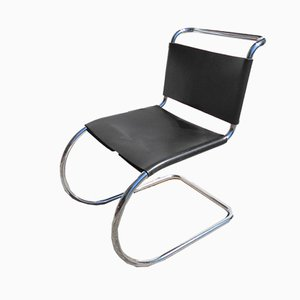 Chaise MR10 par Mies Van Der Rohe pour Knoll, 1980s