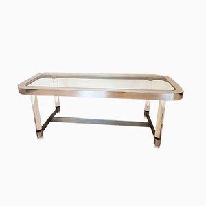 Table Console par Sandro Petti pour Metallarte, 1960s
