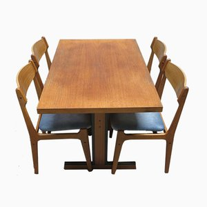 Vintage Scandinavian Dining Set