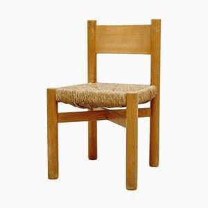 Meribel Stuhl von Charlotte Perriand, 1950er