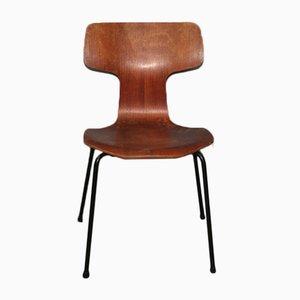 Modell 3103 Hammer Chair von Arne Jacobsen für Fritz Hansen, 1969