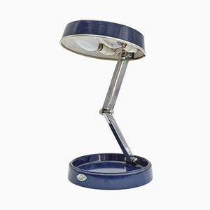 Lámpara de mesa española industrial de GEI, años 70
