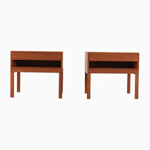 Danish Side Tables, 1970s, Set of 2