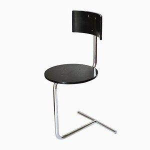 Modernistischer TZS1 Tabouret Stuhl von Gaston Eysselinck, 1980er