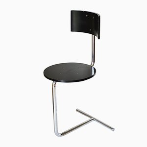Tabouret Chaise d'Appoint TZS1 Moderniste par Gaston Eysselinck, 1980s