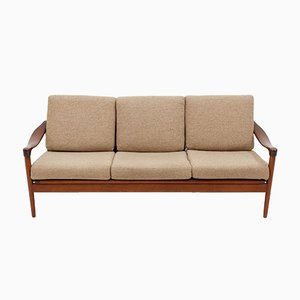 Teak 3-Seater Sofa from De Ster Gelderland, 1950s