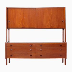 Vintage Model RY20 Double Sideboard by Hans J. Wegner for RY Møbler, 1950s